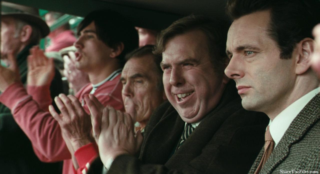 Peter Taylor y Brian Clough, encarnados por Timothy Spall y Michael Sheen