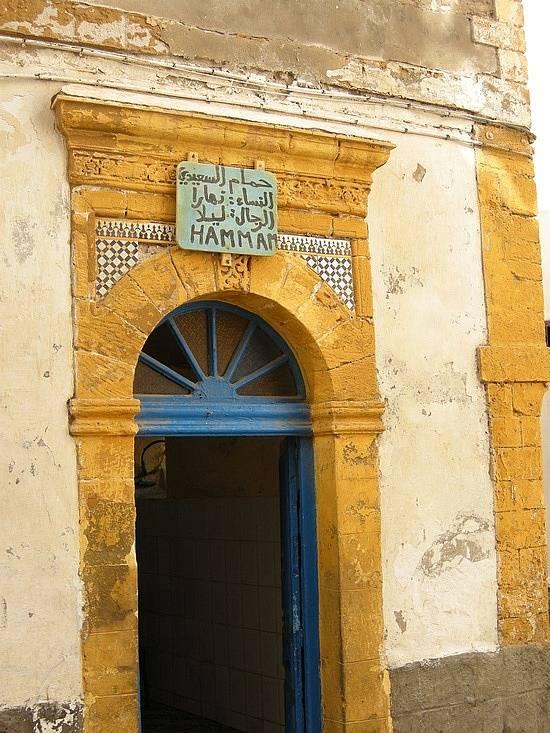 puerta hamam