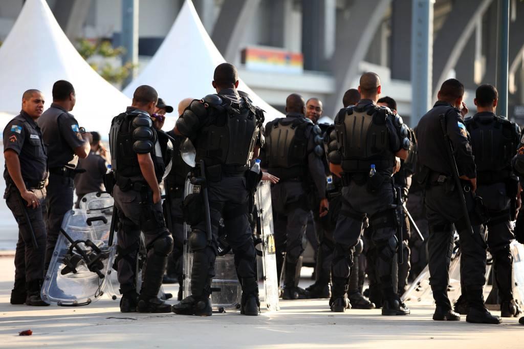 La presencia policial es constante en la ciudad de Río. / Lorena P. Durany