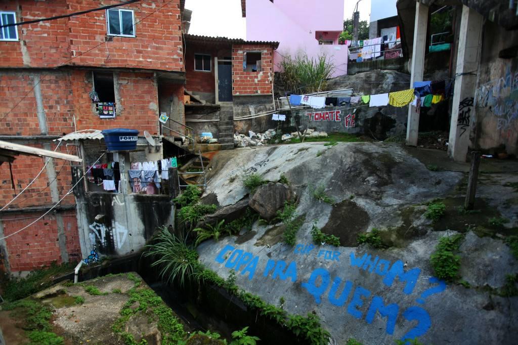 Favela de Santa Marta, la primera en ser pacificada por la policía de Río de Janeiro. / L. P. Durany