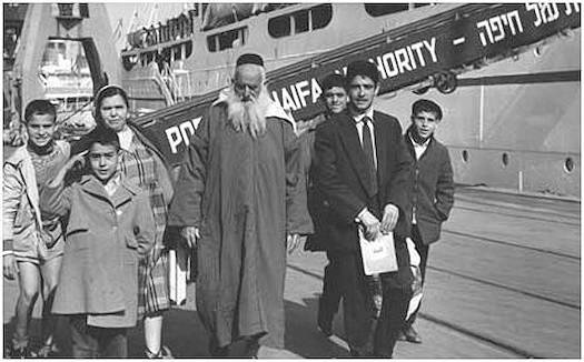 Judíos de Marruecos recién llegados a Israel