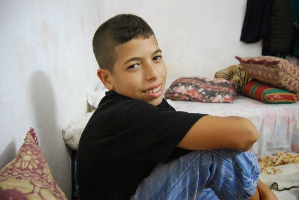 Los niños en Marruecos no lloran