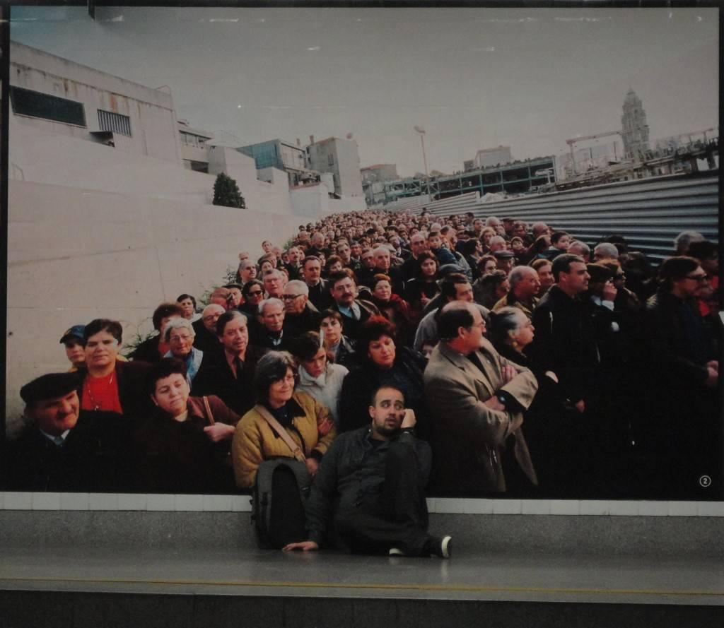 El metro claro y sencillo de Oporto