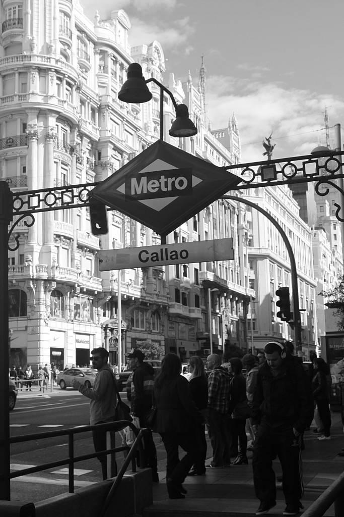 Un día en el metro de Madrid