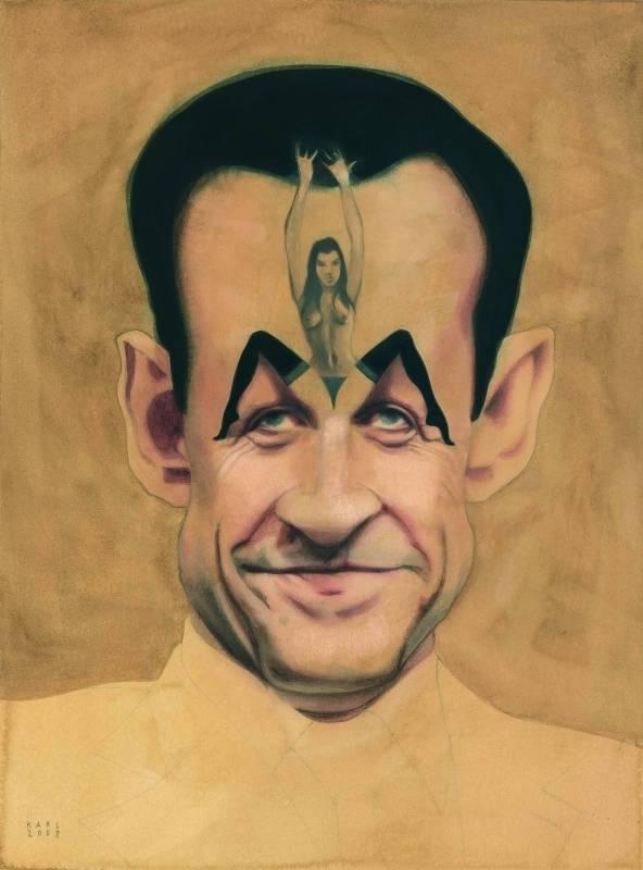 Karl_Meersman_Sarkozy_caricature