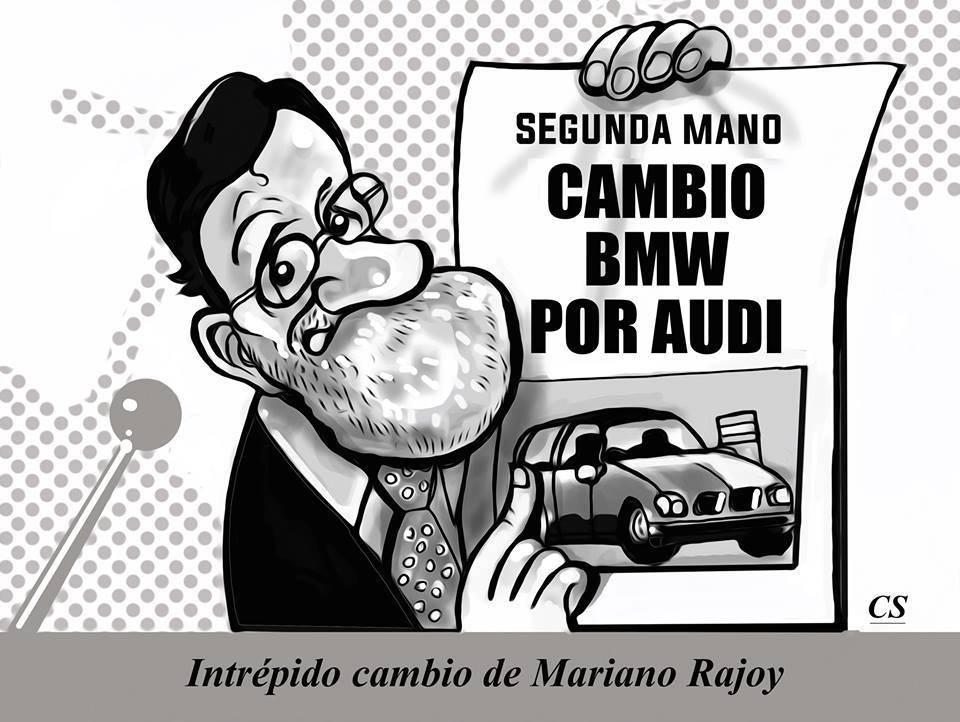 Intrépido cambio de Mariano Rajoy