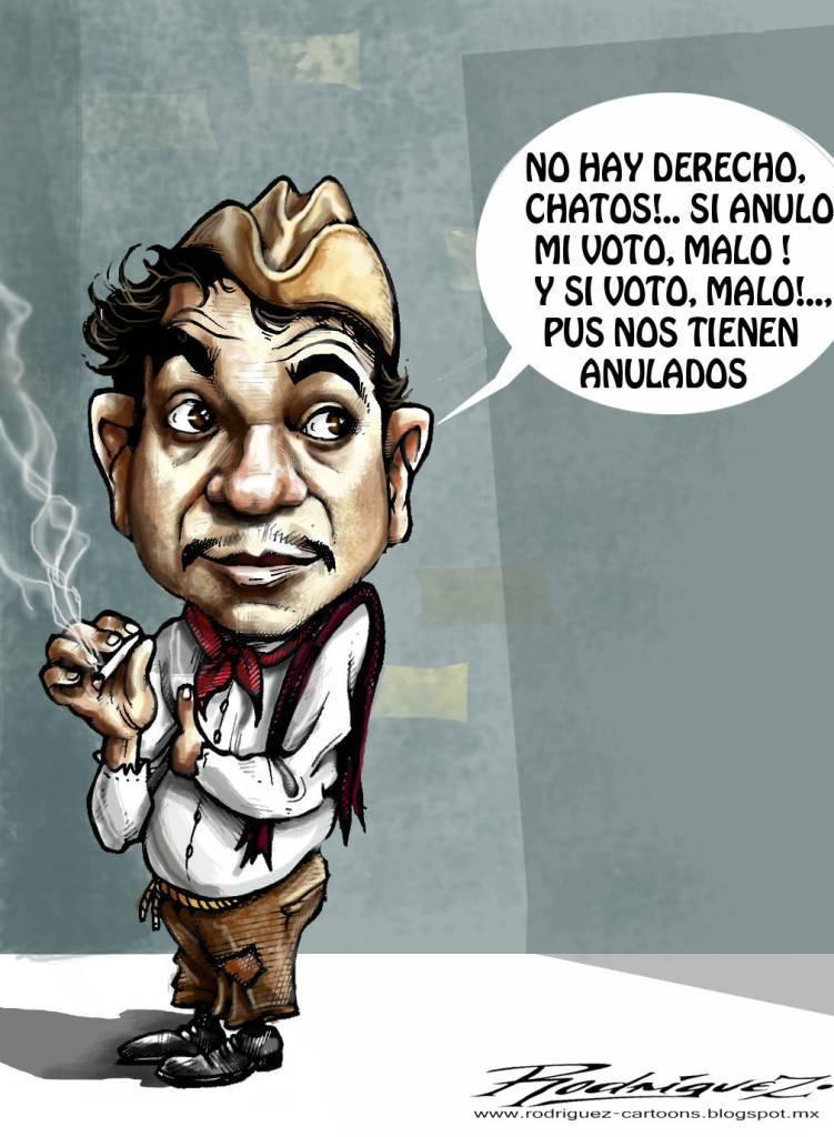 Cantinflas y las elecciones mexicanas