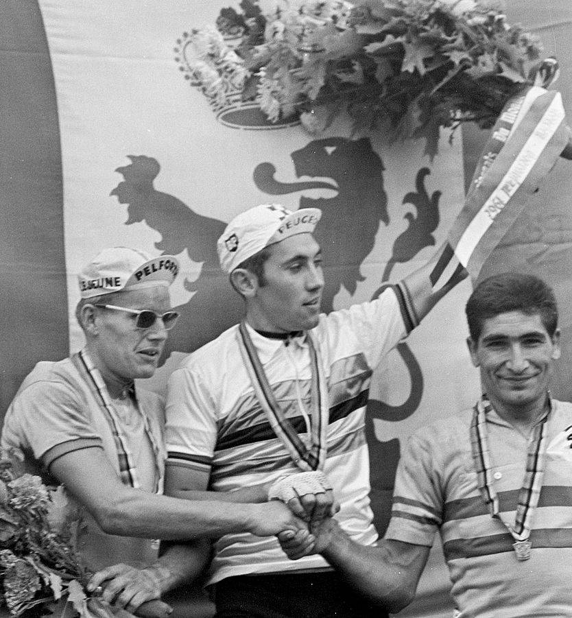 834px-Jan_Janssen,_Eddy_Merckx,_Ramon_Saez_Marzo_1967