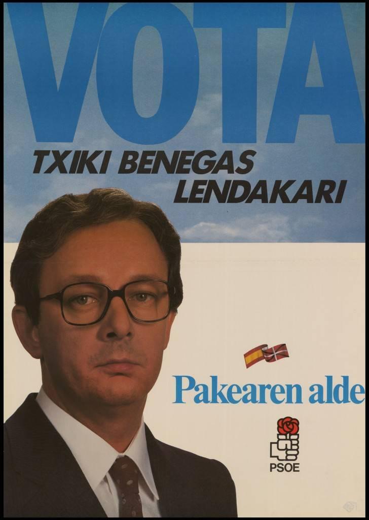 Txiki Benegas, el 'bon vivant' socialista que pudo reinar