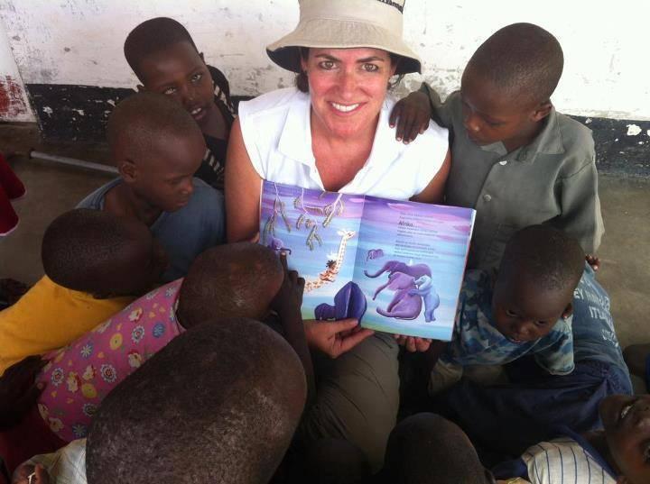 """Ana Eulate: """"Los cuentos son buenos para no mantener a los niños al margen de las enfermedades o la muerte"""""""