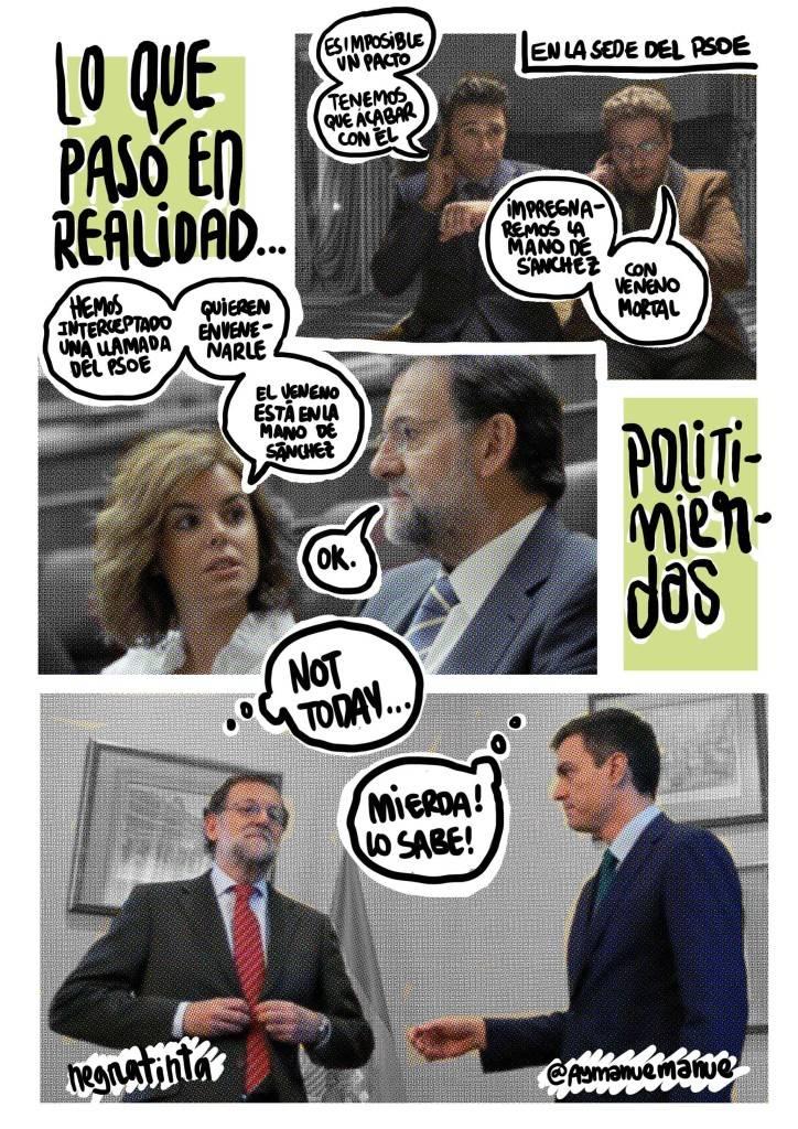Lo que pasó en realidad entre Pedro Sánchez y Mariano Rajoy