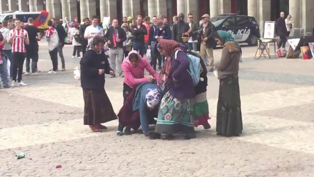 Las Santas Inocentes de la Plaza Mayor