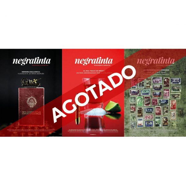 Pack revistas negratinta