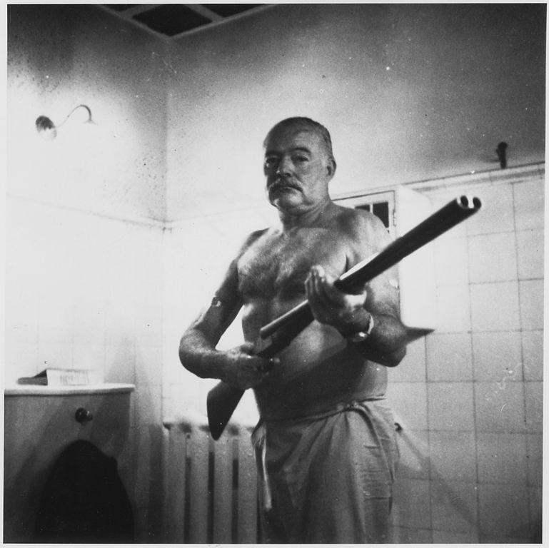 Hemingway como escudero