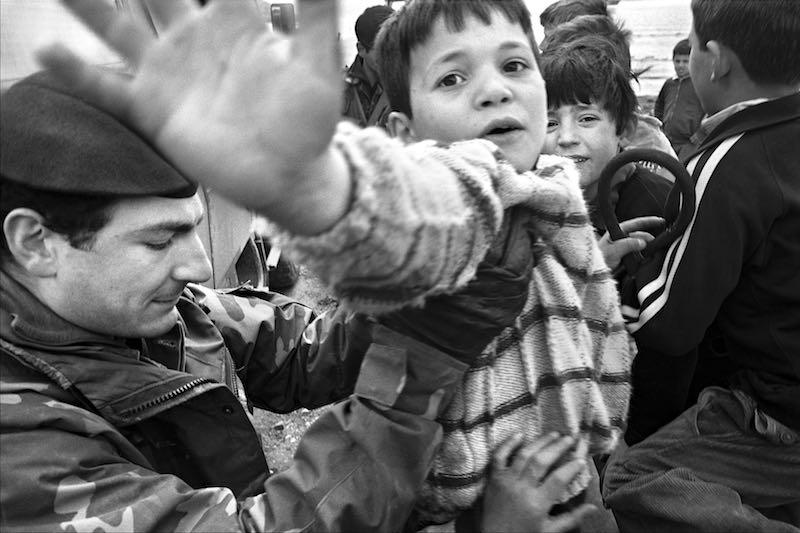 Michele Pero, un fotógrafo artístico formado en el teatro de la guerra