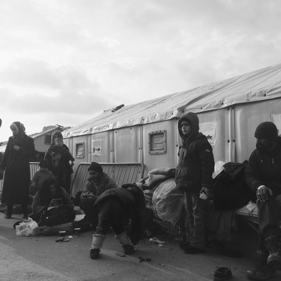 'Nosotros' y 'ellos'. Crónica de un voluntario en Grecia