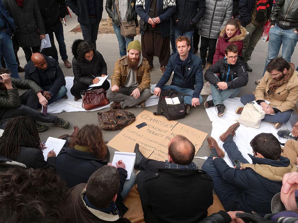 La 'Nuit debout' y la tradición insurgente de París