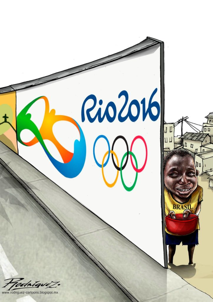Detrás del espíritu olímpico
