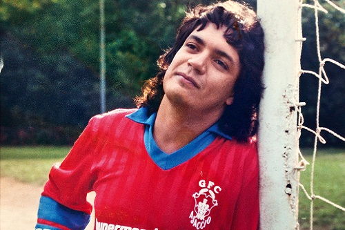 Carlos Henrique Kaiser, Brazilian soccer Forest Gump. Photo by Luciana Whitaker 2011