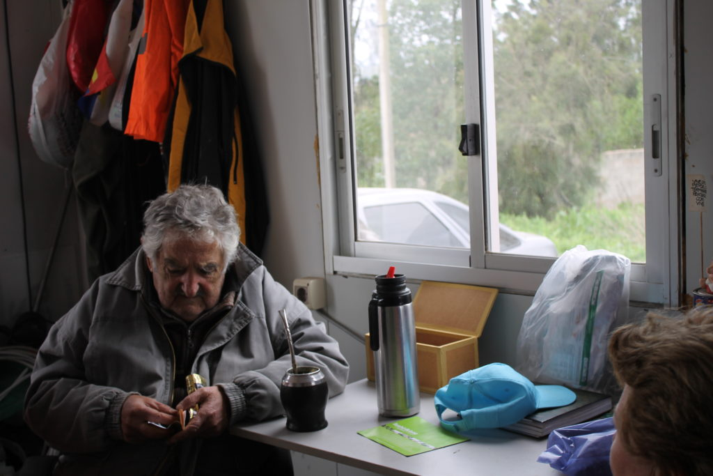 """José Mujica: """"No creo que la gente vaya a soportar indefinidamente que unos pocos acumulen mucha riqueza"""""""