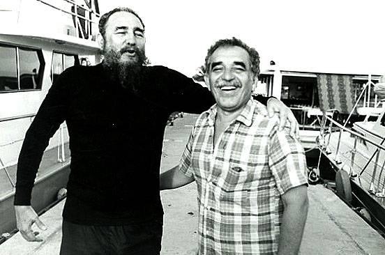 Amistad entre Fidel Castro y Gabriel G. Márquez.
