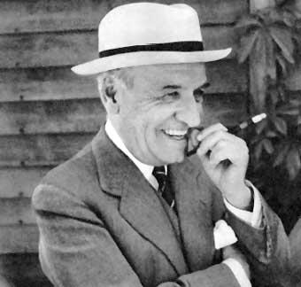 El filósofo José Ortega y Gasset.