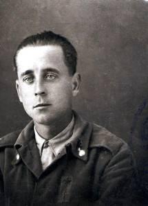 Amado Muriarte combatió con los rojos. Su hermano Gabriel, con los nacionales. Archivo familiar