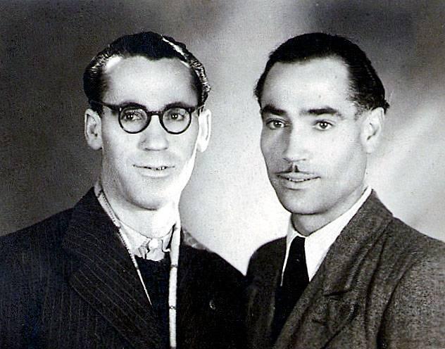 Mauricio y Justo Pacheco, exiliados y deportados a Mathaussen. Archivo familiar