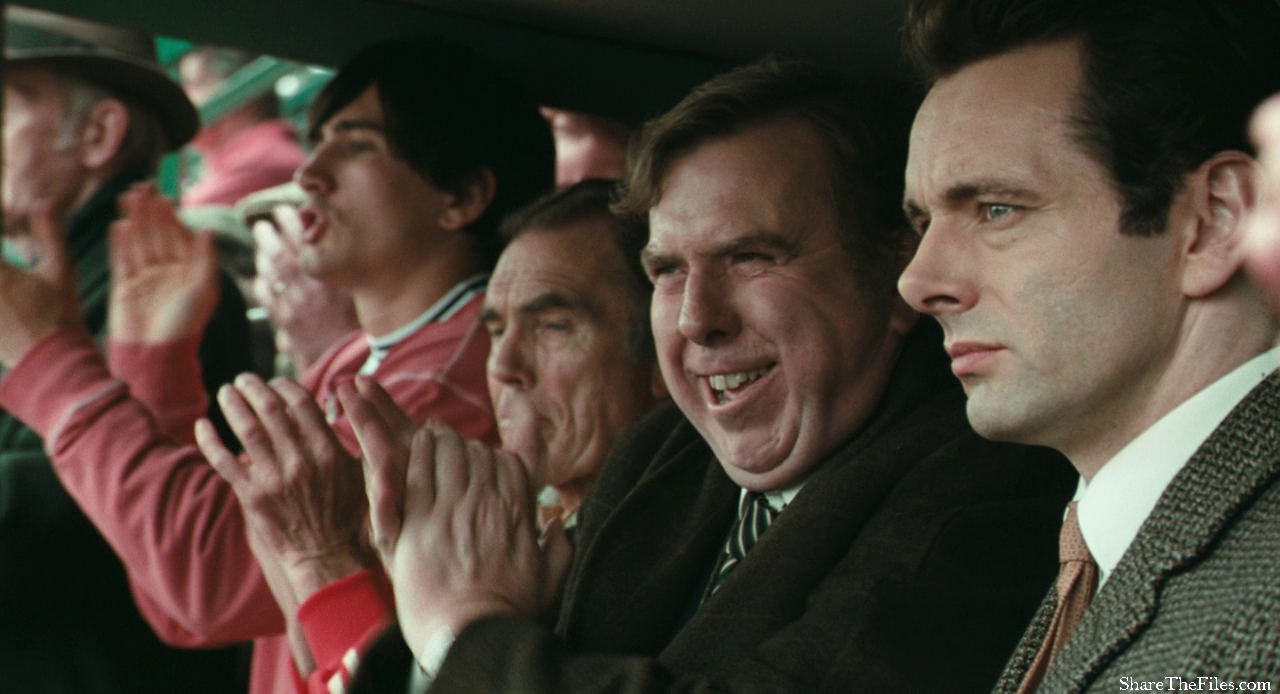 Peter Taylor y Brian Clough, encarnados por Timothy Spall y Michael Sheen