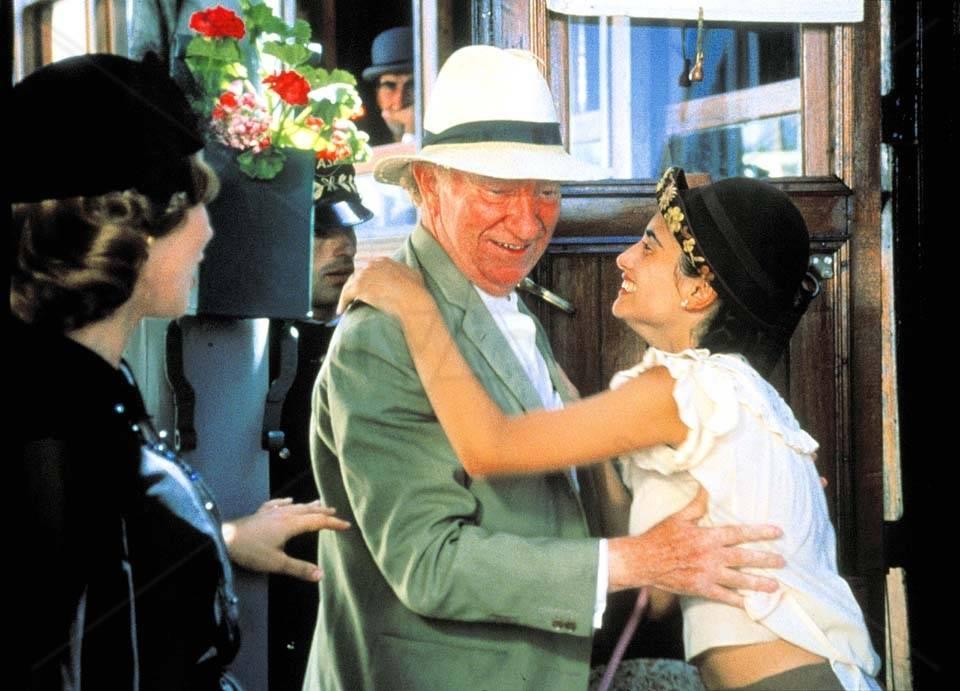 Fernán-Gómez obtuvo el Goya a mejor actor protagonista por su trabajo en Belle Epóque.