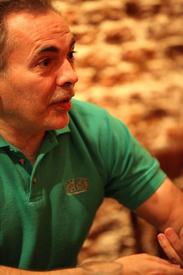 Álvarez Campillo, dialogando sobre 'coaching' y motivación / Lorena P. Durany