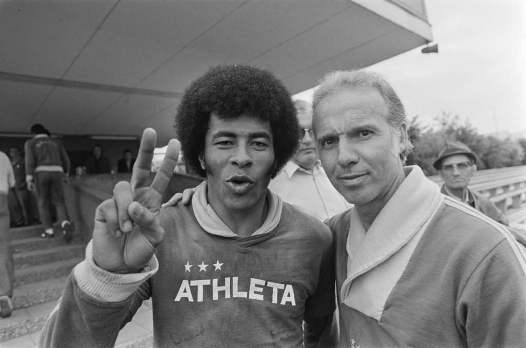 Jairzinho y Zagallo, dos 'cracks' brasileños para el Teresa Herrera del 76.