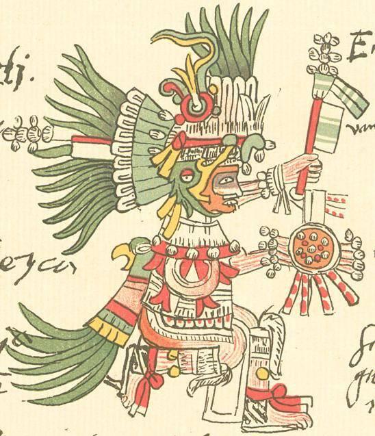 Dios de la guerra Azteca