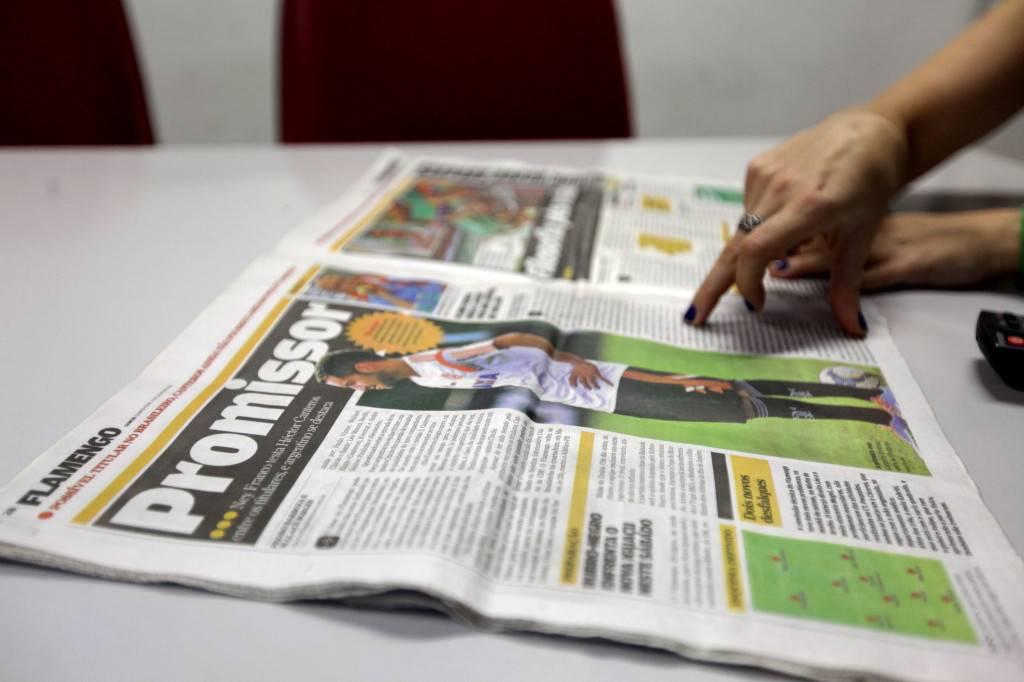 """""""Muchos periodistas españoles son colegas de los futbolistas"""". / L. P. Durany"""