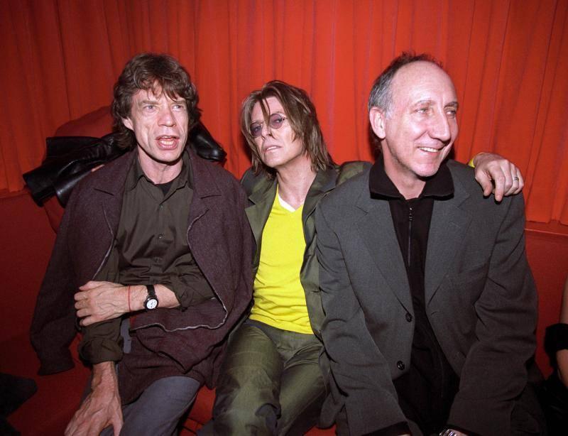 Mick,Bowie, Pete