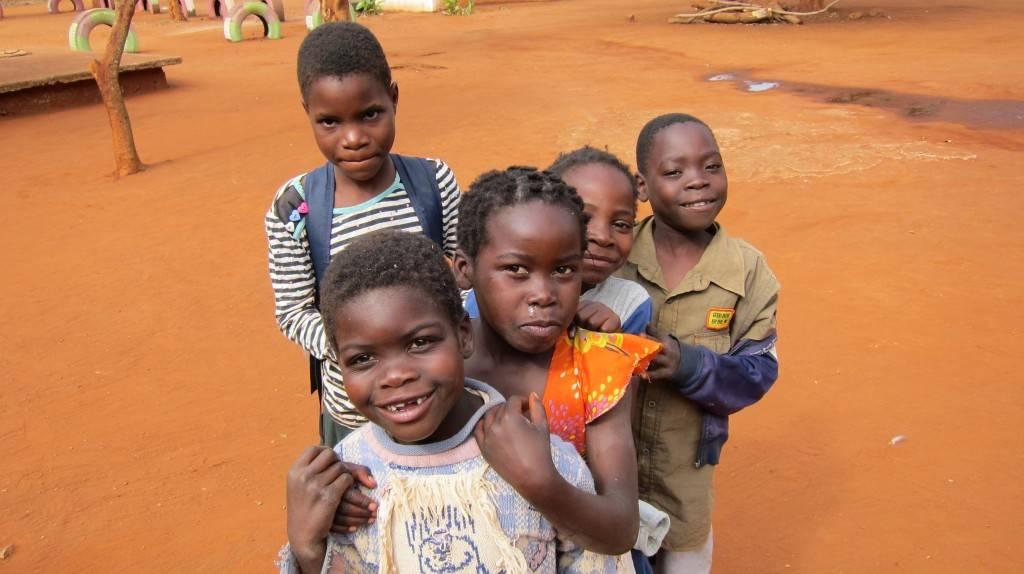 niños en mahelane