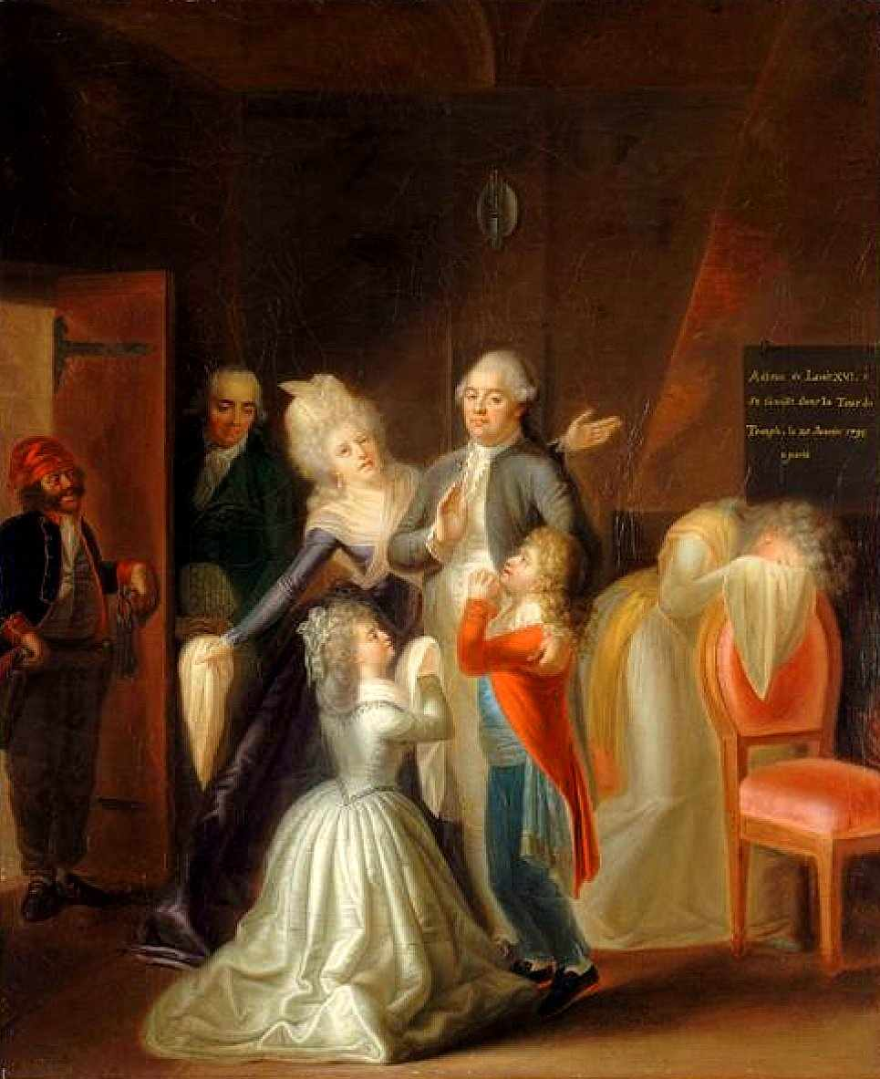 Luis XVI parte para a execucao