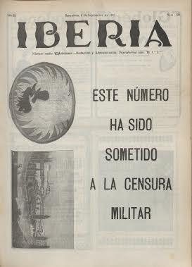 Iberia, No. 126 (8 de septiembre de 1917)