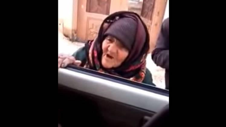 anciana siria