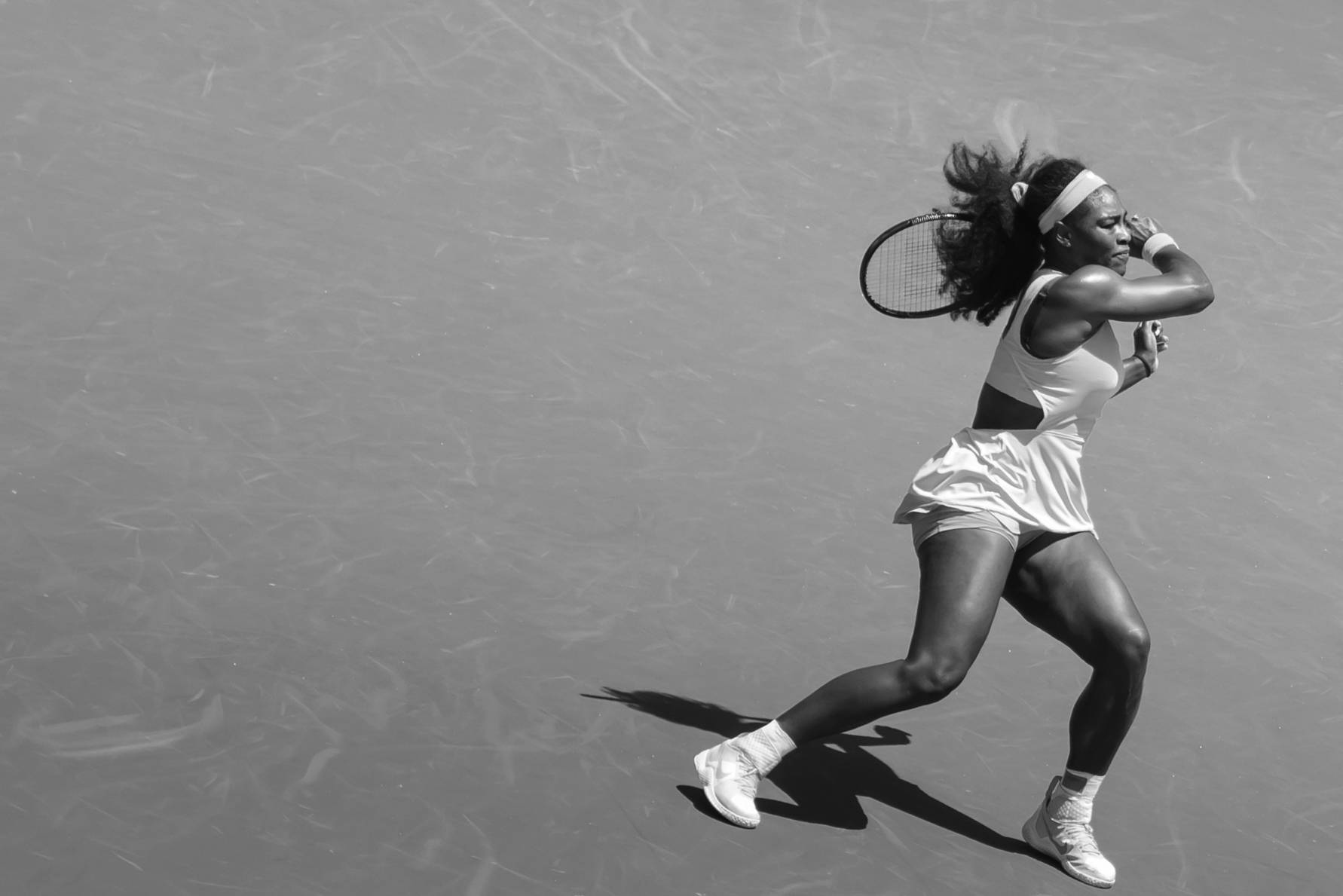 Serena Williams won her eighth Key Biscayne, Miami Open title while she has not been beaten in 2015, this is her 21-match winning in a row! ...only three women in the history of tennis had won an event eight times or more: Chris Evert, Martina Navratilova and Steffi Graf, which is about as esteemed list as you can get. After a dominant 6-2, 6-0 over Carla Suarez Navarro in the finals of the Miami Open, Serena Williams can be added to it.  Ref: http://ftw.usatoday.com/2015/04/serena-williams-miami-open-record-martina-steffi-most-wins-at-a-tournament Despite Saturday's hammering, Suarez Navarro can be happy with her week in Miami where she captured some big scalps including that of Serena's elder sister Venus Williams in the quarter finals. Ref: http://edition.cnn.com/2015/04/04/tennis/serena-williams-miami-open/ Key Biscayne, Miami, Florida.