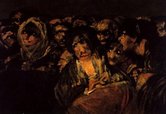 Pintura negra de Francisco de Goya